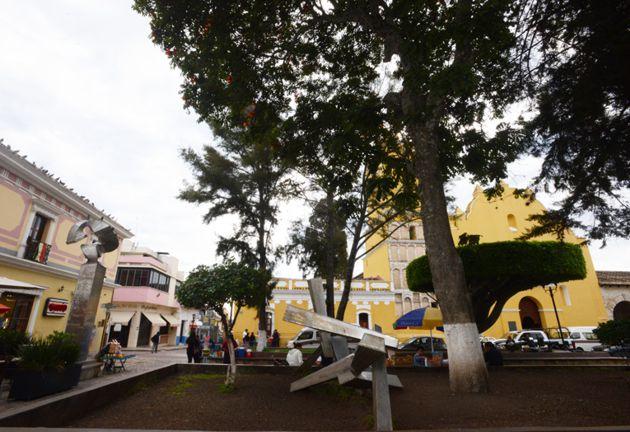 Centro de Comitán y exconvento de Santo Domingo de Guzmán