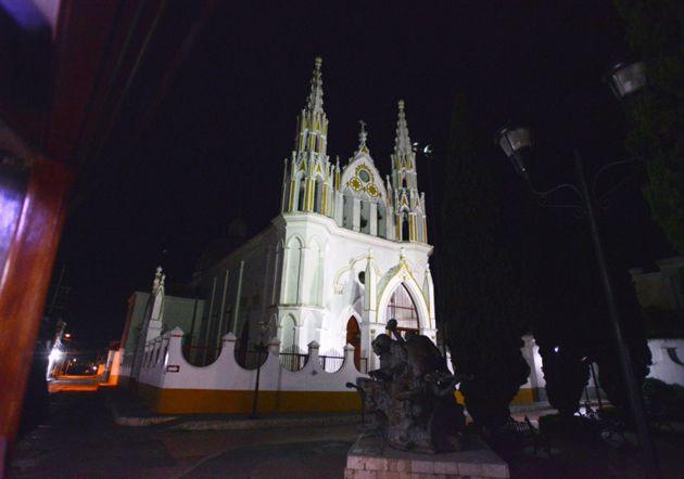 Iglesia neogótica de San José en el Centro Histórico
