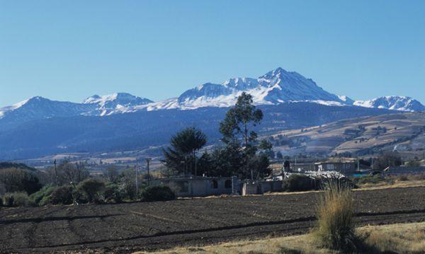 Nevado de Toluca, Parque Nacional y nieve invernal.