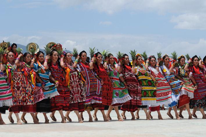 Baile de La Piña de Tuxtepec, Oax.