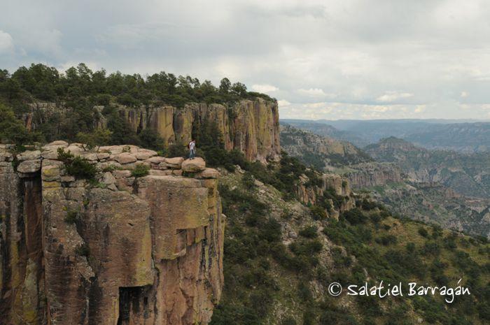 Barrancas del Cobre. Piedra Volada.