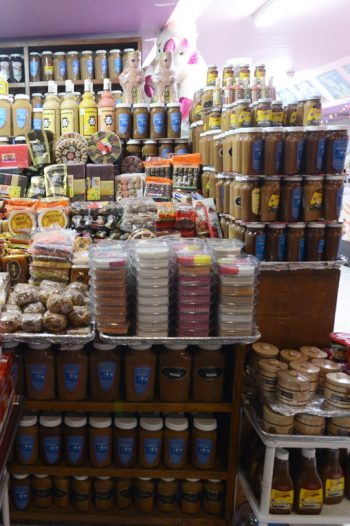 Cajeta y dulces, en Celaya, Gto