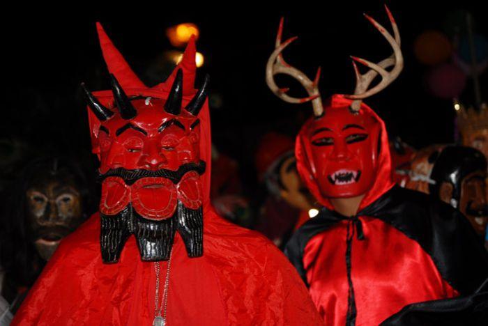 Diablo y Venado en Tempoal.
