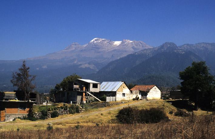 Paisaje Alpino e Iztaccihuatl