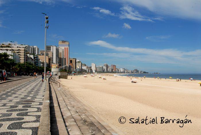 Playa Ipanema. Río de Janeiro.