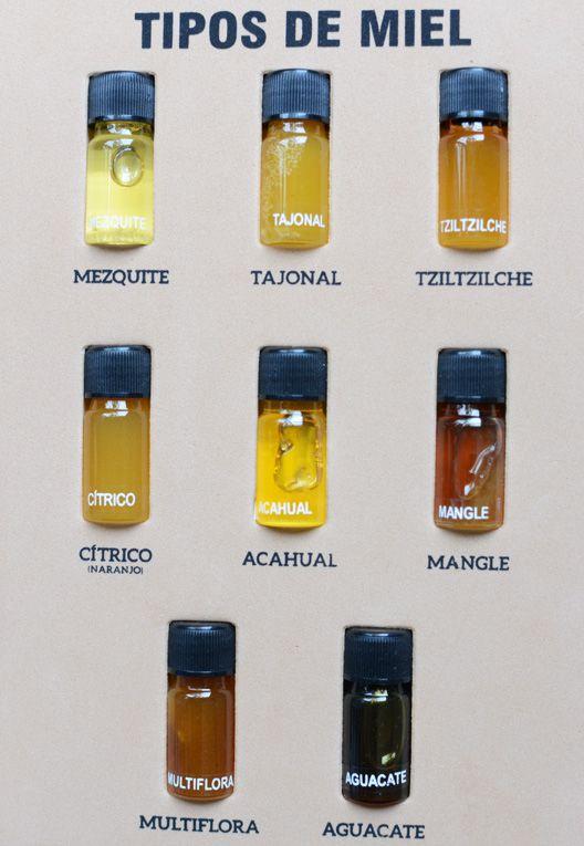 Tipos de miel de México.