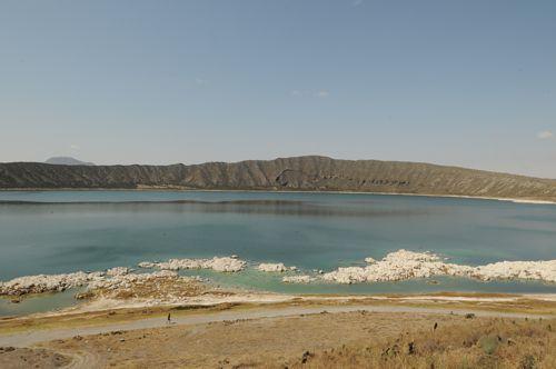Lago cráter Alchichica