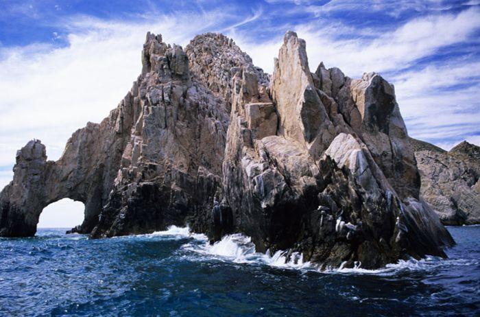 Arco rocoso en Los Cabos.
