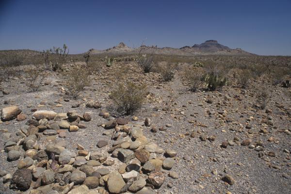 Mapimi rocas en ritual y cerro San Ignacio