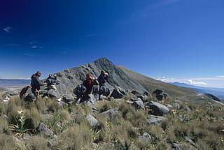 El ombligo en el Nevado de Toluca