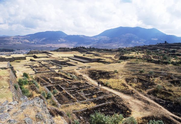 Zona Arqueológica de Teotenango, a orillas de Tenango de Arista.