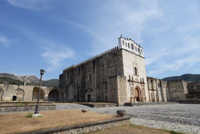 Ex Convento de los Santos Reyes, en Metztitlán, Hgo.