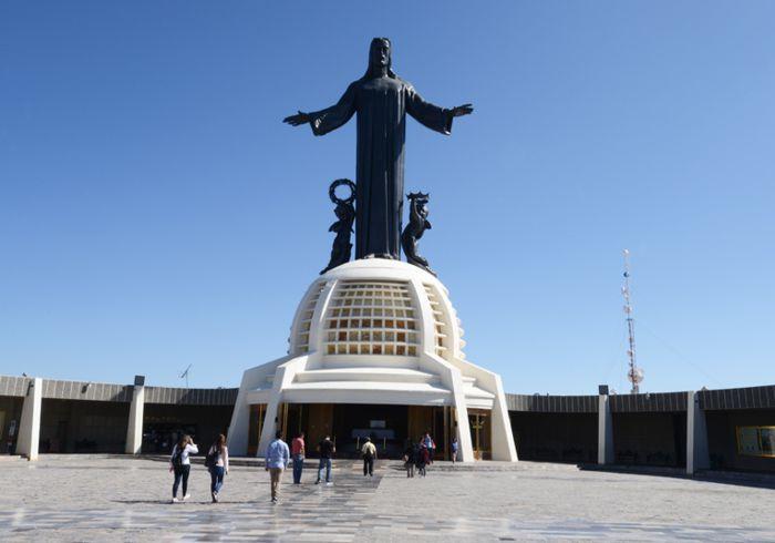 Cristo Rey en Cerro del Cubilete, Silao, Gto.