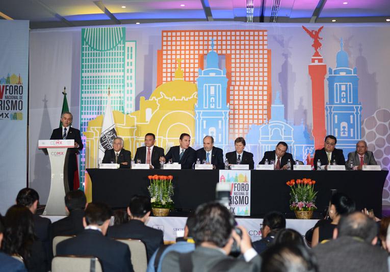 Evento del Foro de Turismo en CdMx