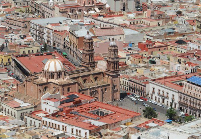 Catedral Basílica en centro histórico de Zacatecas