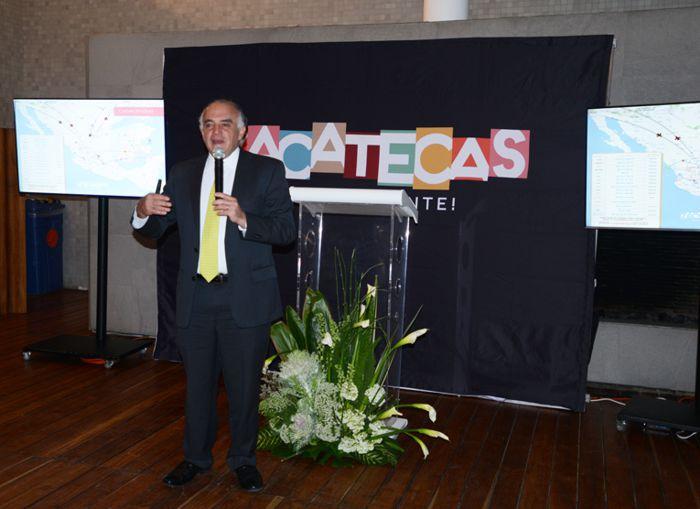 Eduardo Yarto Aponte, Secretario de Turismo de Zacatecas