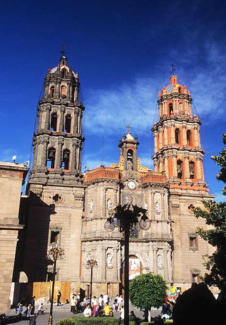 Catedral de San Luis Potosí, sede del primer Mapping en México