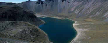 Lago del Sol en el Nevado de Toluca