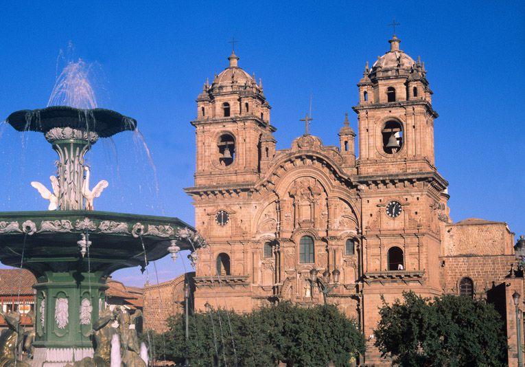 Arquitectura virreinal en todo Peru. Foto Promperu