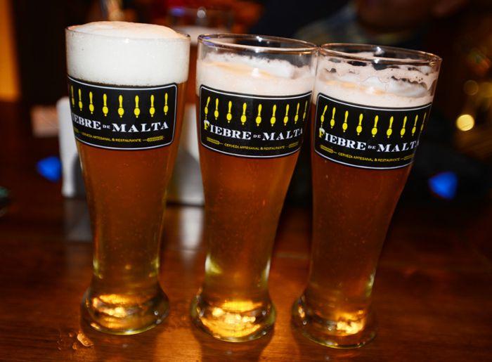 Turibús cervecero. Cerveza Fiebre de Malta