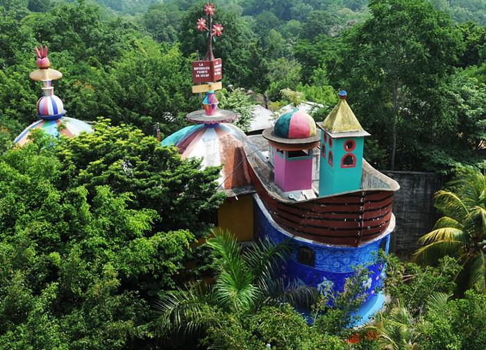 Huasteca Potosina. Centro Botánico de Beto Ramón en Aguacatitla, Axtla, SLP